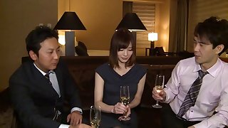 Asian wife Airi Suzumura is great when it comes to sharing her