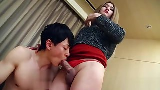 Japan shemale hardcore with cumshot pq